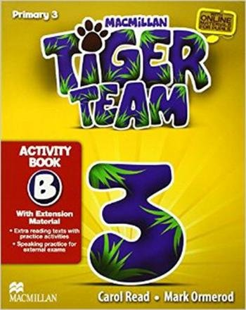 TIGER TEAM ACTIVITY BOOK WITH PROGRESS JOURNAL-3B