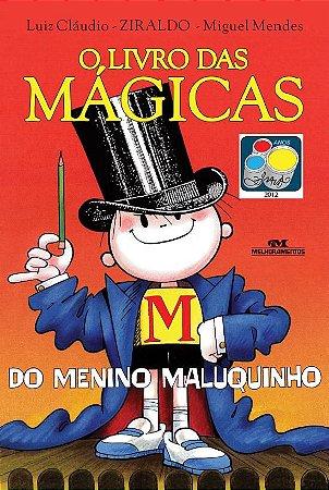 LIVRO DAS MAGICAS DO MENINO MALUQUINHO