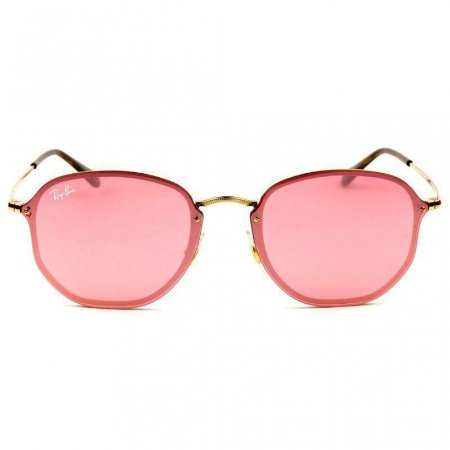 RAY BAN RB3579 BLAZE HEXAGONAL ROSA