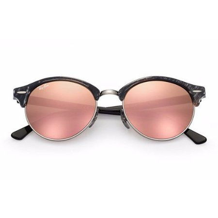 RAY BAN RB4246 CLUBROUND ROSA ESPELHADO
