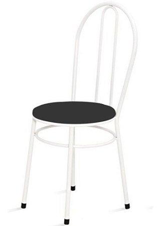 Cadeira Baixa Redonda Para Cozinha Com 02 Argolas 0.0.134