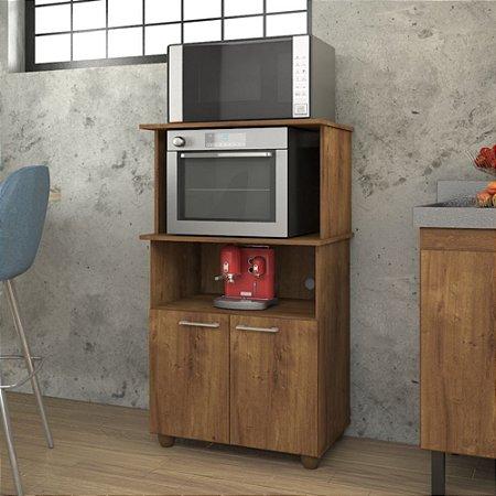 Balcão De Cozinha Com Espaço Para Forno Elétrico Cuca Canela
