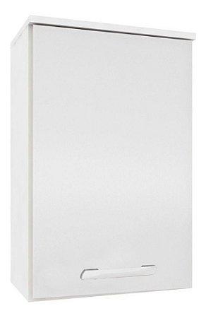 Armário Aéreo De Cozinha 01 Porta 40 Cm Bruna Ii Branco