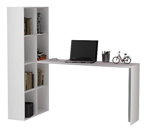 Estante para Livros E Escrivaninha Mm Cube Be38 Branco