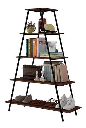 Estante para Livros E Objetos Brooklyn Be64 Castanho