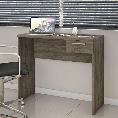 Mesa De Escritório Home Office Para Notebook Nt2000 Canela