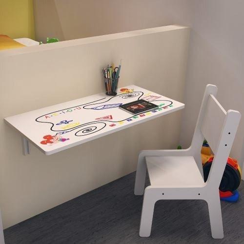 Mesa Infantil Suspensa 70x40 C Cadeira Kids Bra Estam