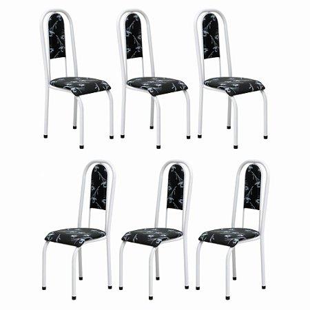 Cadeira para Cozinha 6 UN Com Assento Em Mdp 12 Mm 0.0.122