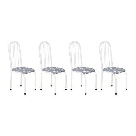Cadeira para Cozinha 4 UN Com 02 Arcos Internos 0.0.112