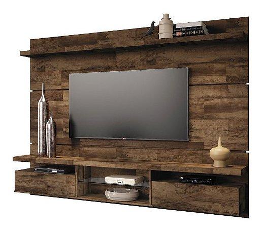 Painel Para TV Home Suspenso Até 60 Em Mdf Livin 2.2 Deck