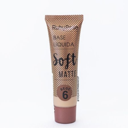 Base Soft Matte Bege 6 - Ruby Rose