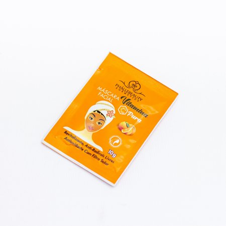 Máscara Sachê Vitamina C - Phállebeauty