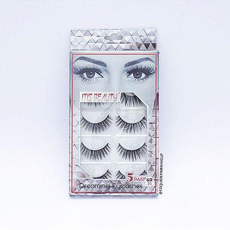 Cartela de Cílios 6D23 - Itis Beauty