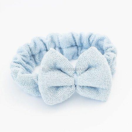 Faixa De Make Laço Azul - NONI BEAUTY