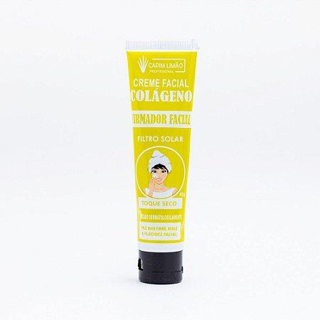 Creme Firmador Facial + Filtro Solar - Capim Limão