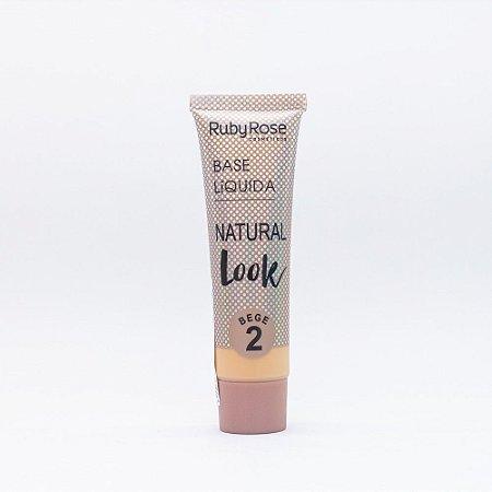Base Natural Look Bege 2 - Ruby Rose