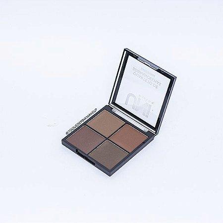 Quarteto de Sobrancelhas B - Uni Makeup