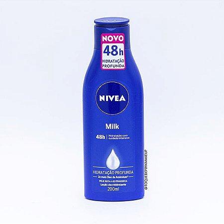 Loção Milk 200ml - Nívea