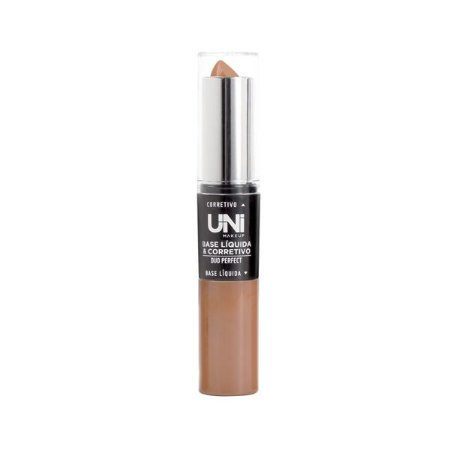 Base e Corretivo Duo Perfect Cor E - Uni Makeup