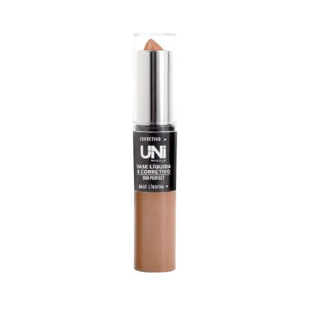 Base e Corretivo Duo Perfect Cor F - Uni Makeup