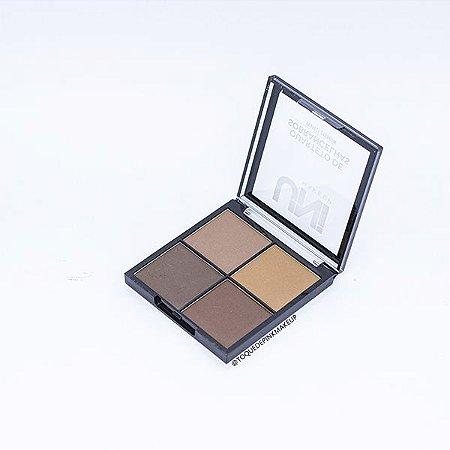 Quarteto de Sobrancelhas A - Uni Makeup