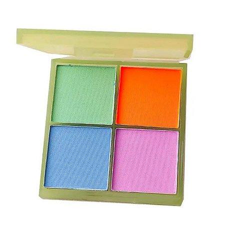 Paleta de Sombras Radiante Neon B - Jasmyne