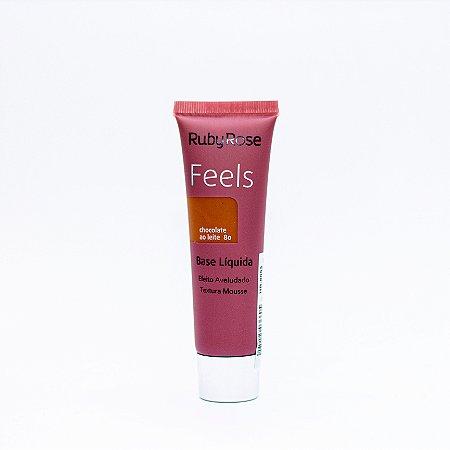 Base Feels Chocolate ao Leite 80 - Ruby Rose