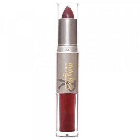 Batom Duo Matte cor 076 - Ruby Rose