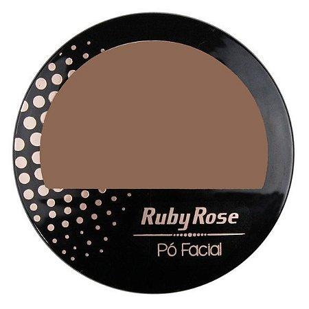 Pó Facial Chocolate Médio 21 - Ruby Rose