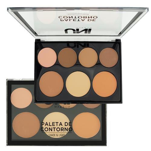 Paleta de Contorno Shade & Light - Uni Makeup