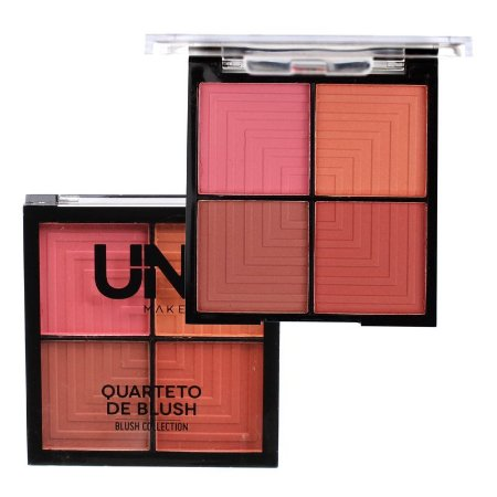 Quarteto de Blush A - Uni Makeup