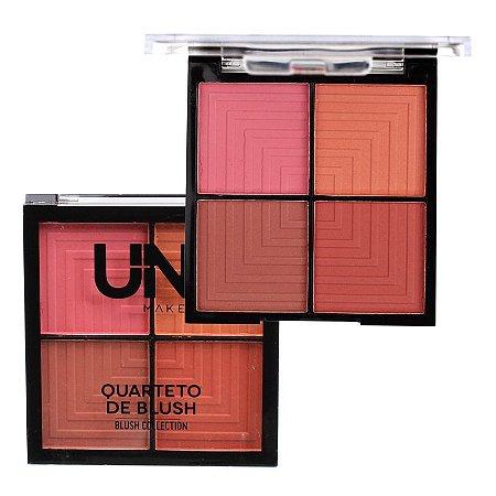 Quarteto de Blush B - Uni Makeup