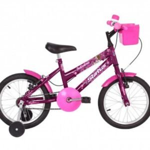 "Bicicleta Infantil Status Aro 16"" - Violeta"