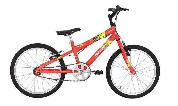 Bicicleta Status Juvenil Aro 20″ – Laranja