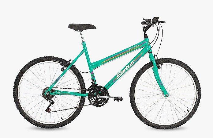 Bicicleta Status Belissima Aro 24″, 18 Marchas- Verde Esmeralda