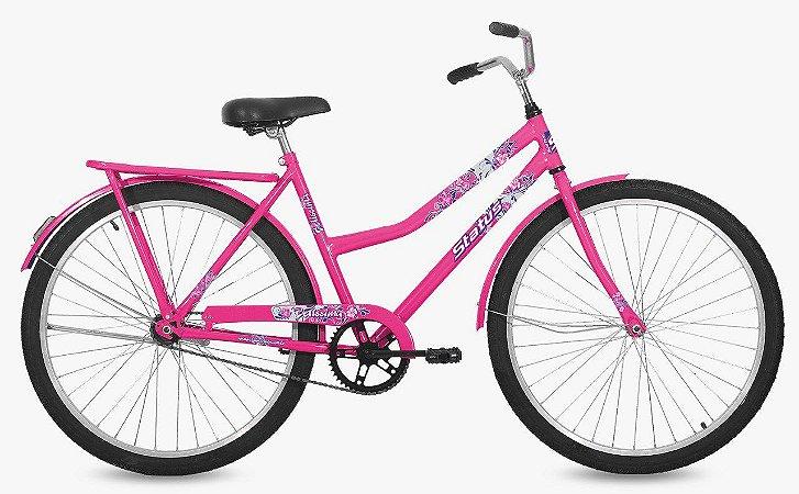 Bicicleta Status Belissima Aro 26″, Transporte – Rosa Flour