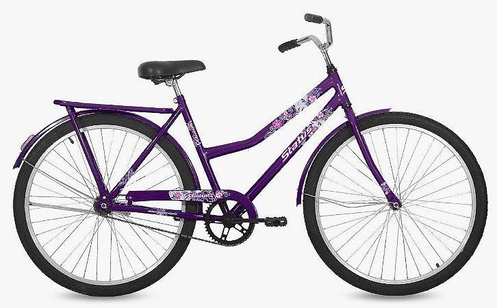 Bicicleta Status Belissima Aro 26″, Transporte – Roxa