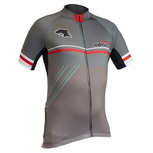 Camisa Refactor - Venzo Viper - Cinza / Vermelho / Branco