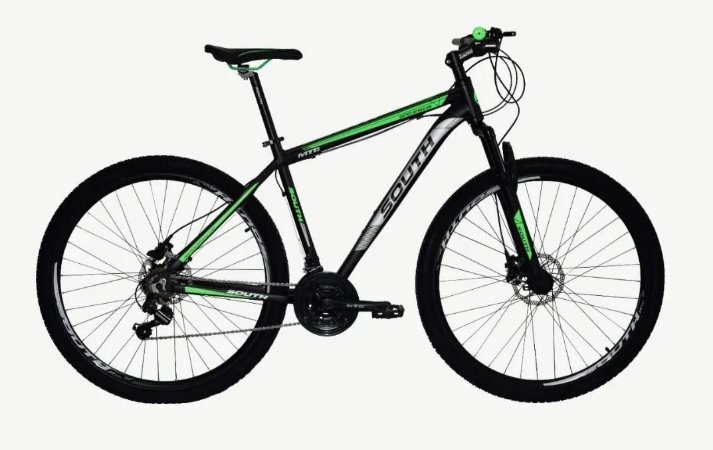 "BICICLETA NEW SOUTH LEGEND ARO 29"" 24 Velocidades - VERDE"