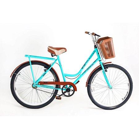 Bicicleta Route Retrô Verde