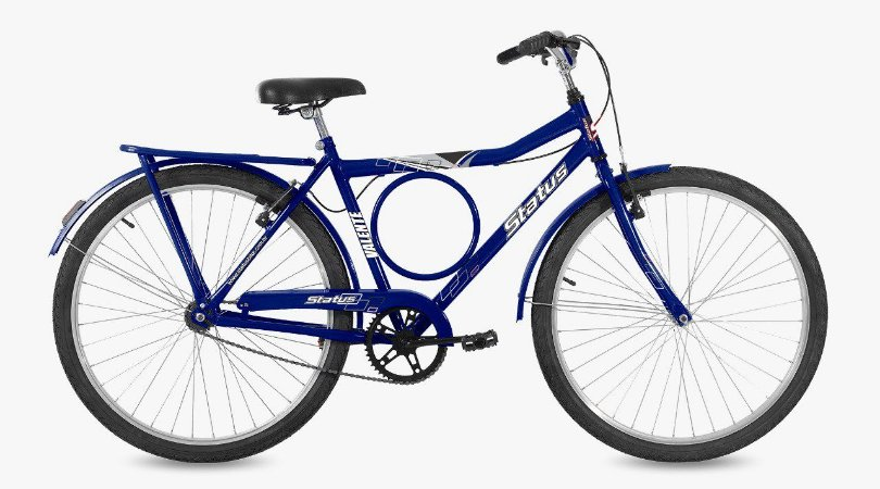 Bicicleta Status Barra Circular Aro 26″