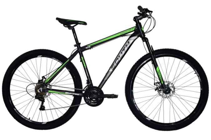 Bicicleta New South Aro 29″, 21 marchas