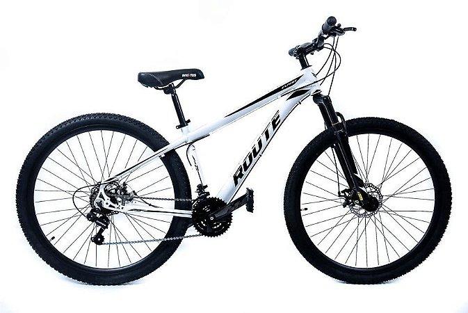 Bicicleta Aro 29 Route Bike 24v Alumínio Freio a Disco e Suspensão