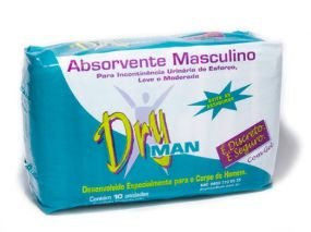 DRYMAN ABSORVENTE MASCULINO