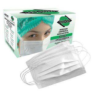 Máscara Tripla com Elástico C/50 Unidades - Protdesc