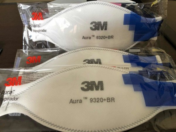 Máscara Respirador Descartável 3M™ Aura 9320