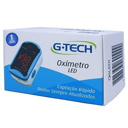 Oxímetro de Pulso LED G-Tech