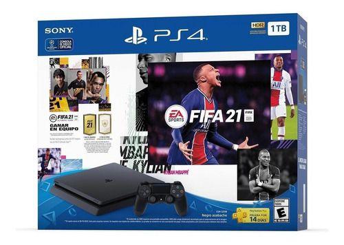 Console PS4 Slim 1TB + FIFA 21 - 2 Anos de Garantia