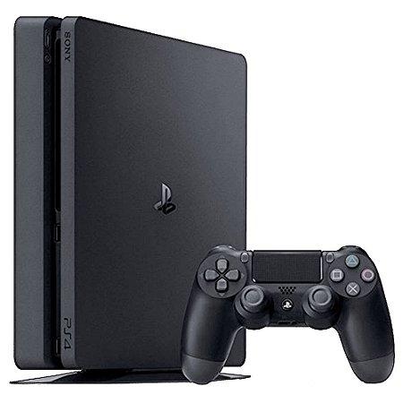 Console PS4 Slim 500GB + Call of Duty Infinite Warfare + 2 Controles com 2 Anos de Garantia