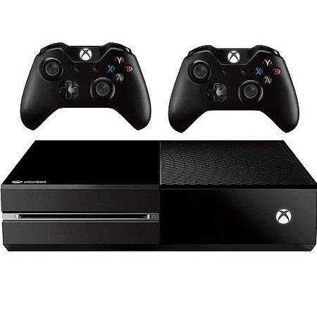 Console Xbox One 500GB  + 2 Controles  Wireless + Cabo HDMI + 2 Anos  de garantia